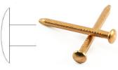 Copper round shaft nails