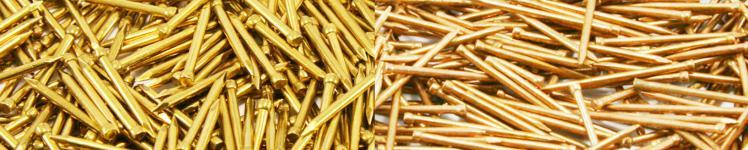 Gestauchte Stifte