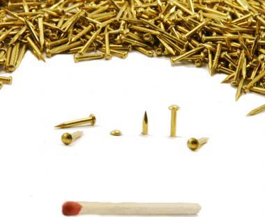 RUNDKOPF Nagel REINMESSING Ø 1.1 mm L : 15 mm - Ø 1.1 mm