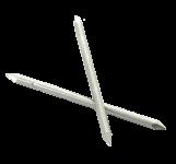 GOUJONS INOX A4 316 L 2 pointes Ø 2.7 mm (1kg) L : 63 mm - Ø 3.9 mm